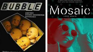 Affiche du film Bubble et de la série Mosaic. #setevensoderbergh #film #movie #série #cinéma