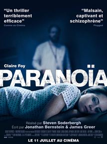 Affiche du film Paranoïa. #stevensoderbergh #film #movie #cinema