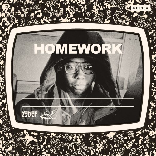 Kev Brown - Homework - pochette album