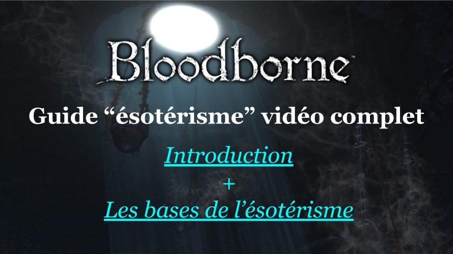 Vignette de mon article introductif dédié à mon guide vidéo sur l'ésotérisme, dans le jeu vidéo Bloodborne #bloodborne #fromsoftware #arcane #ésotérisme #buildéso #arcanebuild