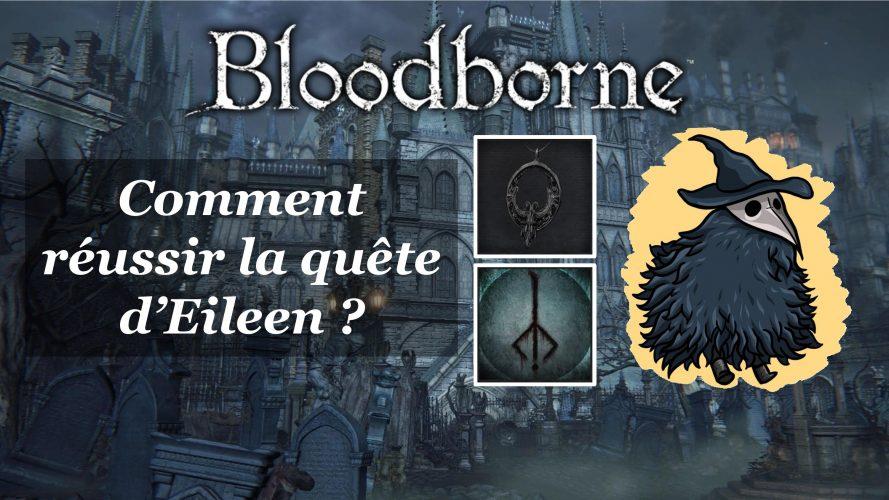 Bloodborne : Comment réussir la quête d'Eileen. #bloodborne #eileen #eileenquest #bloodbornehunterrune
