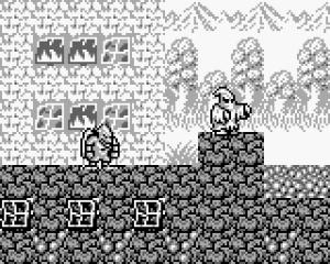 La dimension artistique de Gargoyle's Quest est très réussie, malgré l'aspect monochrome de la GameBoy #GuiDaFunkyMan #GargoylesQuest #Capcom #Retrogaming #Nintendo #RetrendoGaming #RetrendoGames #retrogames