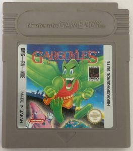 Image de la cartouche GameBoy occidentale de Gargoyle's Quest #GuiDaFunkyMan #RetroGaming #RetroGames #GargoylesQuest #Nintendo #Capcom