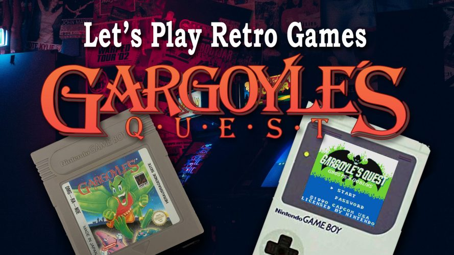 Vignette de mon article sur Gargoyle's Quest, jeu pour lequel j'ai réalisé un Let's Play YouTube #GuiDaFunkyMan #Retrogaming #Retrogames #retrendogames #retrendogaming #capcom #Nintendo #letsplay