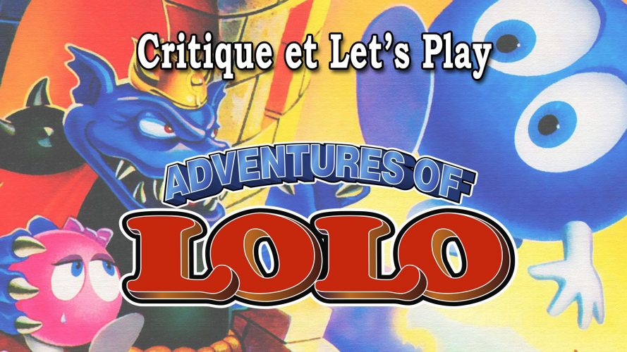 Vignette de mon article consacré à Adventures Of Lolo #GuiDaFunkyMan #AdventuresOfLolo #Nintendo #NES #retrogaming #retrogames #retrogamer