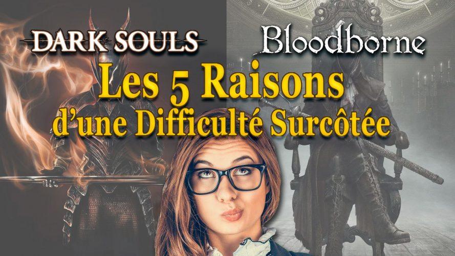 Dark Souls/Bloodborne : les 5 raisons d'une difficulté surcotée. #GuiDaFunkyMan #retrogaming #soulsborne #DarkSouls #Bloodborne