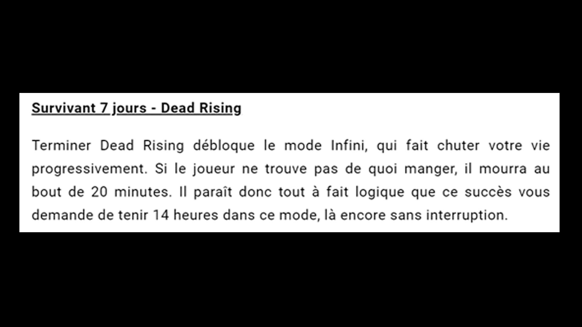 """Le trophée """"survie 7 jours"""" de Dead Rising, un des trophées les plus retors à obtenir du jeu vidéo. #GuiDaFunkyMan #retrogaming #soulsborne #DarkSouls #Bloodborne"""