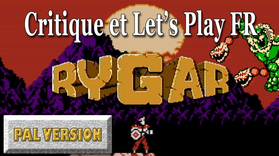 Rygar NES version PAL européenne : Critique et Let's Play #GuiDaFunkyMan #Rygar #NES #RygarNES #retrogaming #retrogamer #retrogamingFR