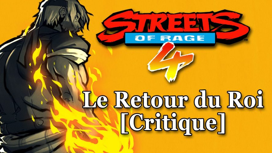 Streets Of Rage 4 : le retour du roi [critique]. Il s'agit de la vignette de l'article. #GuiDaFunkyMan #StreetsOfRage4 #SoR4 #retrogaming #retrogamer #SEGA #LetsPlayFR #StreetsOfRage