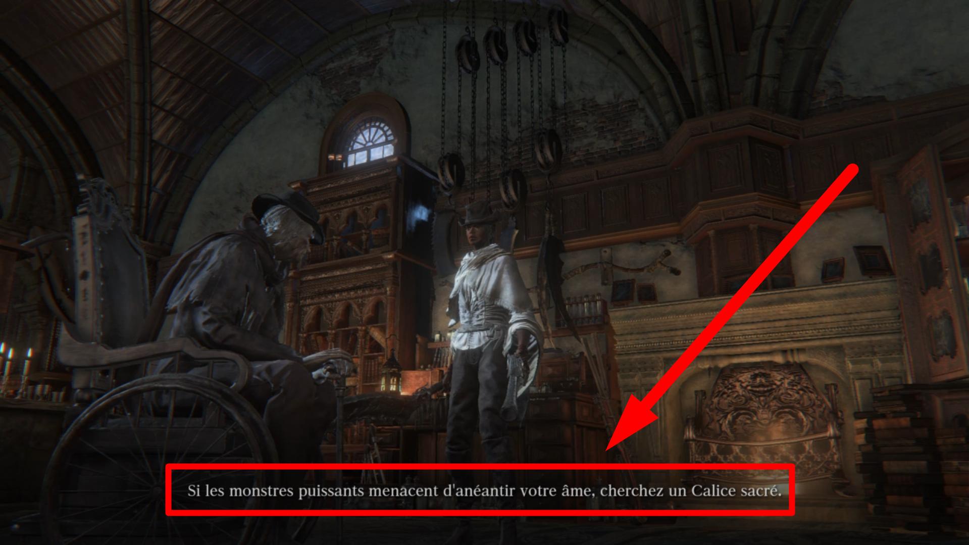 Dans Bloodborne, Gehrman lui-même vous suggère de vous rendre dans les donjons, si les mobs de la trame d e base vous posent problème. Ecoutez ses conseils et votre build vous remerciera.